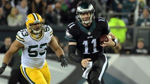 Carson Wentz, QB, Eagles (5th last week)