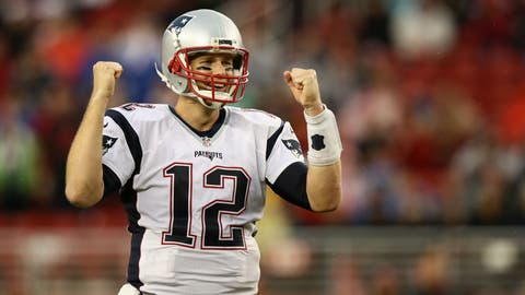 AFC #2 seed: New England Patriots (8-2)