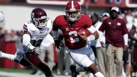 No. 1 Alabama 31, Chattanooga 3