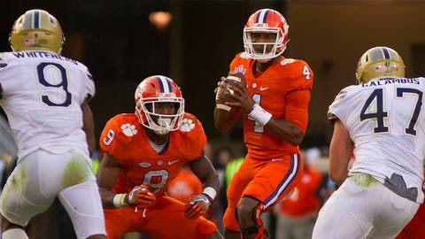 No. 4 Clemson 56, South Carolina 7