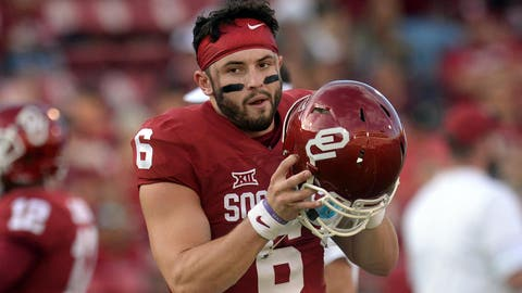 Baker Mayfield, QB Oklahoma, Jr.