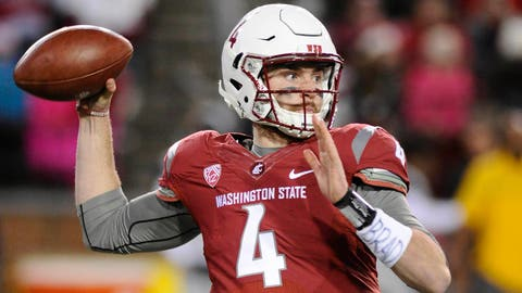 RISERS 3. Luke Falk, QB Washington State, Jr.