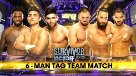 Kickoff show: Rich Swann, Noam Dar and TJ Perkins vs. Tony Nese, Ariya Daivari and Drew Gulak