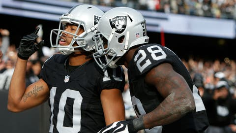 AFC #2 seed: Oakland Raiders (9-2)