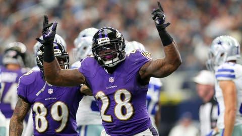 AFC #4 seed: Baltimore Ravens (5-5)