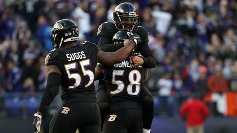 AFC #3 seed: Baltimore Ravens (6-5)
