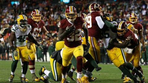 NFC #6 seed: Washington Redskins (6-3-1)