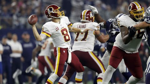 NFC #6 seed: Washington Redskins (6-4-1)