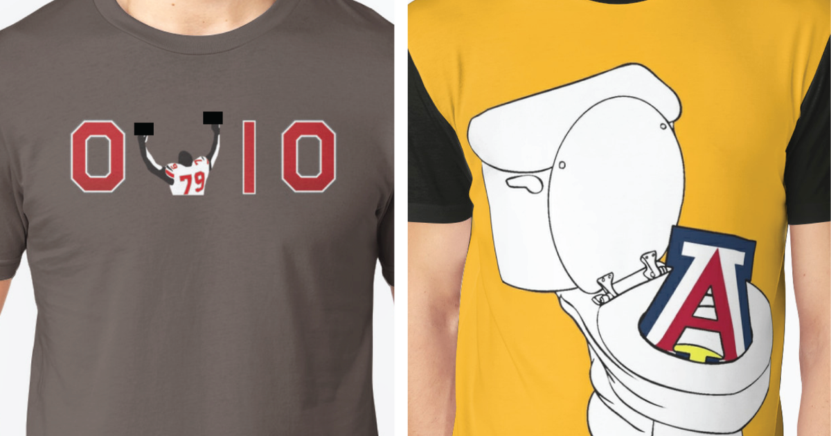 903078a721 The 25 funniest college football rivalry shirts | FOX Sports