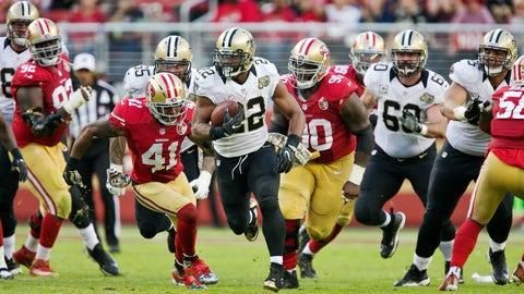 Saints 41 - 49ers 23