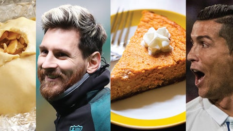 Leo Messi and Cristiano Ronaldo—Apple and Pumpkin Pie