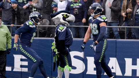 NFC #2 seed: Seattle Seahawks (7-2-1)