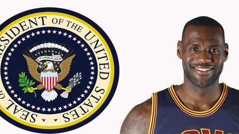 President: LeBron James