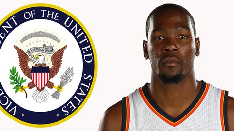 Vice President: Kevin Durant