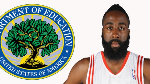 Secretary of Education: James Harden