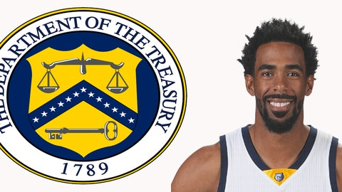 Secretary of the Treasury: Mike Conley Jr.
