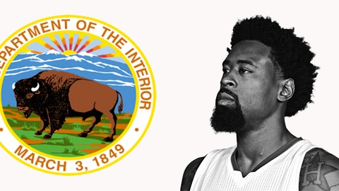Secretary of the Interior: DeAndre Jordan