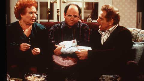 Seinfeld's 8th and second-to-last season was running