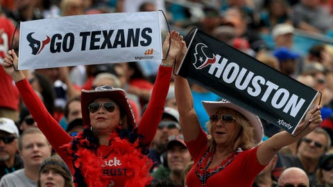 AFC #3 seed: Houston Texans (6-4)