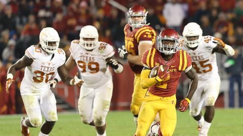 Iowa State 24, Texas 0 | Oct. 31, 2015