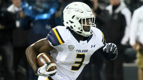 Kareem Hunt, RB, Toledo