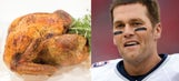 Athletes and their Thanksgiving dinner equivalents