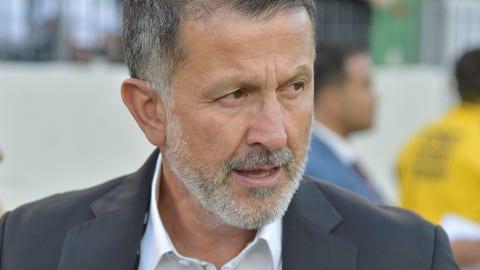Juan Carlos Osorio's temperament paid off