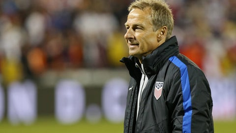 November 21, 2016: Klinsmann is fired
