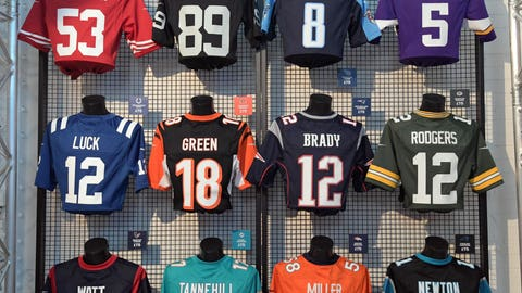 I collect NFL jerseys