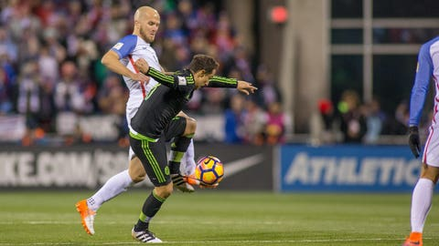 Michael Bradley struggled again