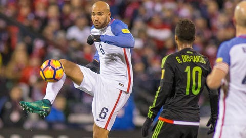 John Brooks is the Americans' rock
