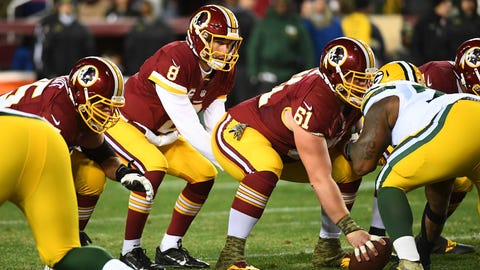 Washington Redskins (6-5-1): Stalling in the red zone
