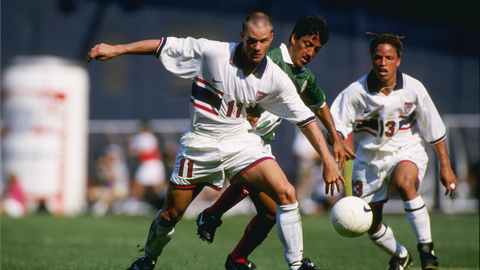 A message to the world – 1995 Copa America quarterfinals