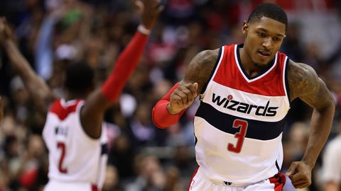 To Washington with Darren Collison for Bradley Beal, 2017, 2020 first-round picks