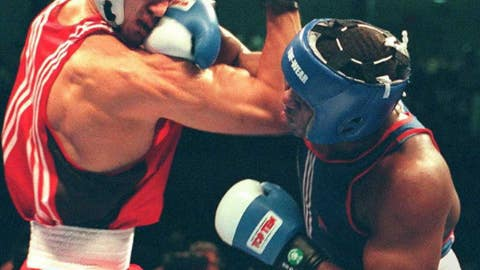 Wladimir Klitschko had recently won the super-heavyweight gold medal at the 1996 Olympic Summer Games in Atlanta