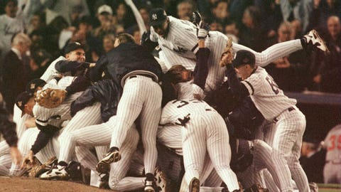 The New Yankees won the first of their four World Series titles from 1996-2000