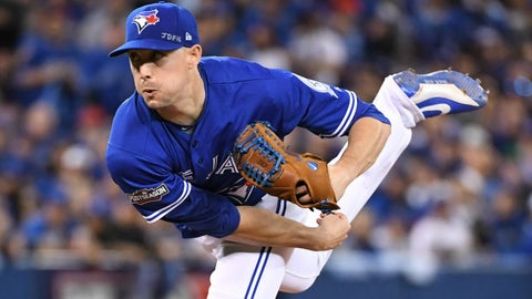 Aaron Sanchez - finger laceration