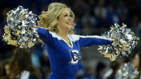 Creighton cheerleader