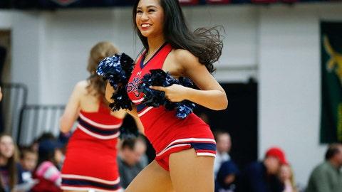 St. Mary's cheerleader