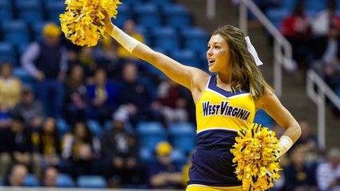 West Virginia cheerleader