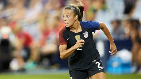 Is Mallory Pugh's future at striker?