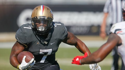 Dontravious Wilson, RB, Central Florida (Cure Bowl)