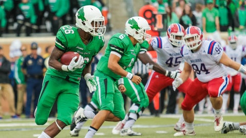 Jeffrey Wilson, RB, North Texas (Heart of Dallas Bowl)