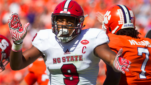 Bradley Chubb, DE, NC State (Independence Bowl)