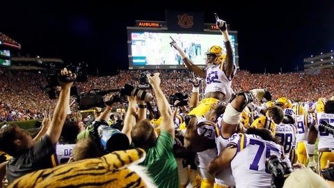LSU thinks it beat Auburn