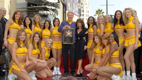 Wyoming: Jerry Buss (former owner of the Los Angeles Lakers)