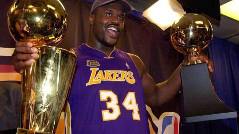 2002 Shaquille O'Neal