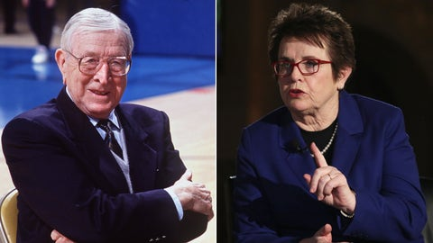 1972 -- John-Wooden and Billie Jean King