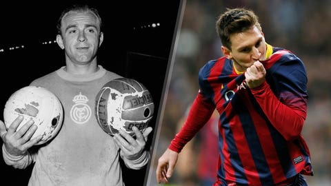 Most La Liga goals in El Clasico