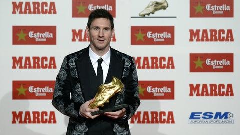 Most La Liga goals in a season